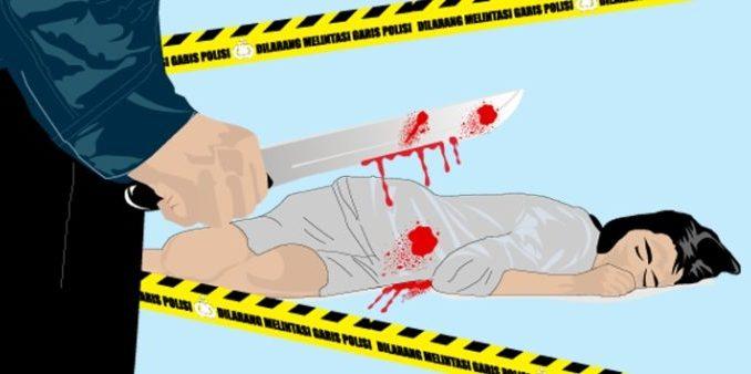 Ilustrasi Gambar Pelaku Pembunuhan Begal