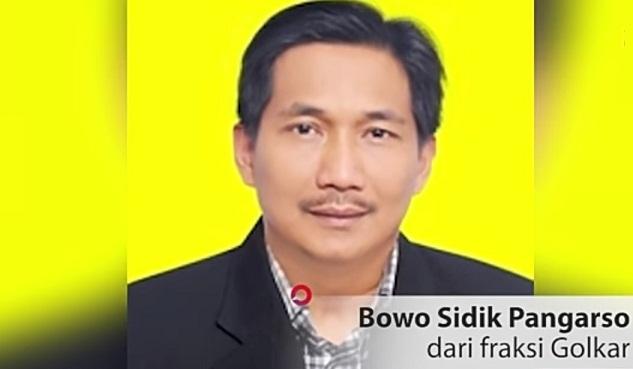 Bowo Sidik Anggota DPR Dari Fraksi Golkar Ditangkap KPK