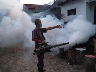Dinkes Pematangsiantar Melakukan Fogging Di Kelurahan Aek Nauli