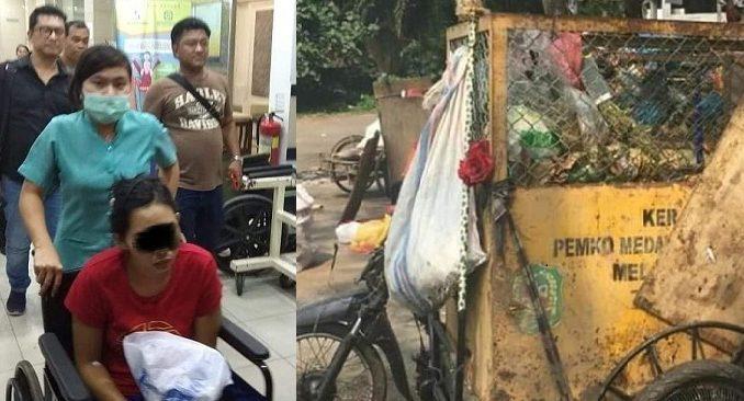 Takut Dipecat Majikan, PRT di Medan Buang Bayinya ke Tong Sampah