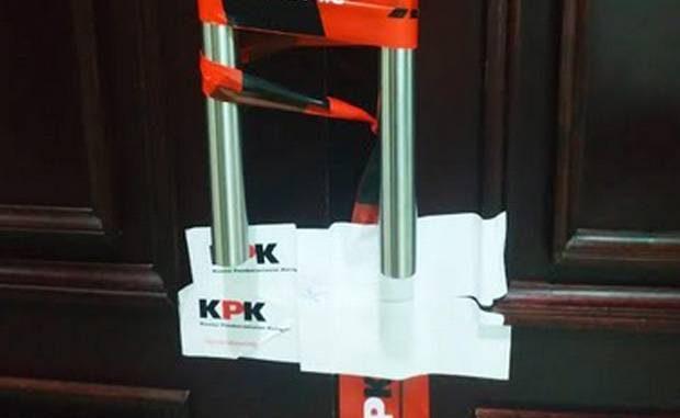 KPK segel kantor menteri agama