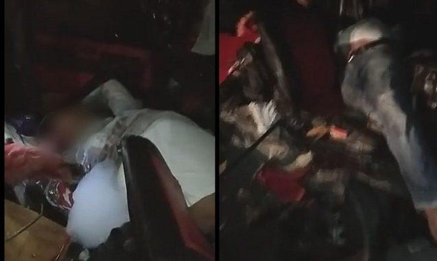 Kecelakaan Lalu Lintas Pick Up Kontra Colt Diesel Jalan Parapat KM 4,5 Pematangsiantar