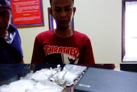 Polisi Berhasil Menangkap Mahasiswa Aceh Membawa Narkoba 1 kg