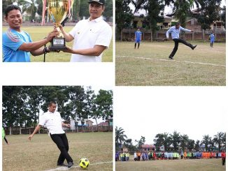 Pertandingan Sepakbola Antar SLTA Pematangsiantar Memperebutkan Walikota Cup III