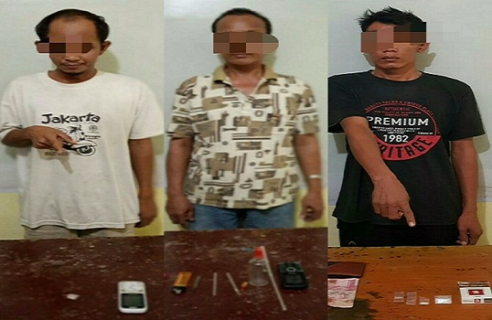 Polres Simalungun Berhasil Meringkus 3 Sindikat Jaringan Narkotika