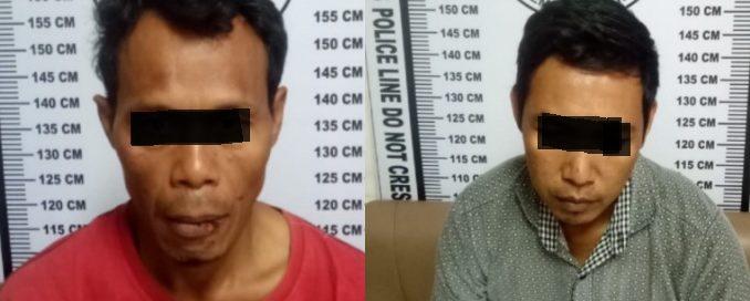 Dedi dan Iyan Pelaku Transaksi Narkoba Ditangkap Sat Narkoba Polres Siantar