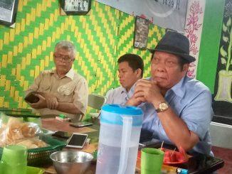 Anton Sihoming Ketika Mengadakan Konfrensi Pers Pematangsiantar 27/04/2019
