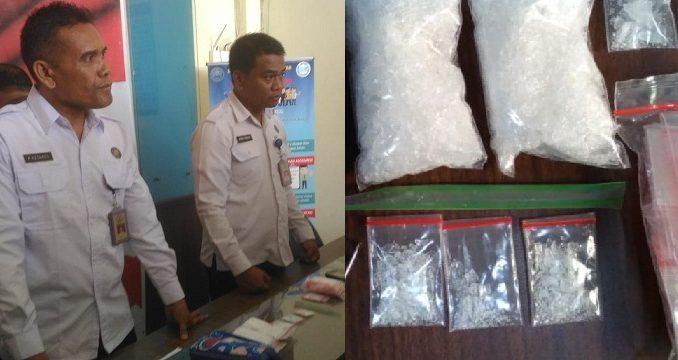 Konfrensi Pers BNN Pematangsiantar Berhasil Menangkap Pengendar Narkoba Jenis Sabu