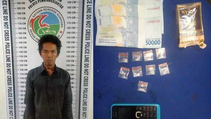 Tersangka Pengedar Narkotika CHAIRUL SAN SIKUMBANG alias ILONG