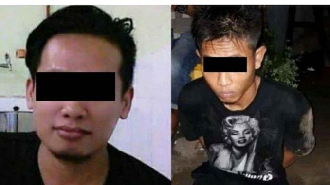 Kedua Pelaku Terduga Pelaku Pembunuhan Mayat Tanpa Kepala Didalam Koper