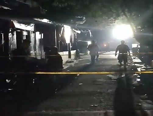 Lokasi Ledakan Ruko Di Jalan Kruing, Kelurahan Sekip, Kecamatan Medan Petisah, Medan