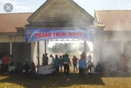 Launching Pasar Tozai Baru pada hari Senin, 29 April 2019 yang beralamat di Kelurahan Bah Kapul, Kecamatan Siantar Sitalasari