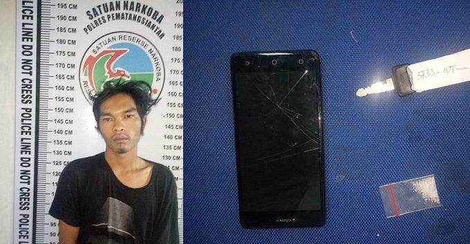 Polisi Berhasil Mengamankan Chairul Achmad Tersangka Narkoba