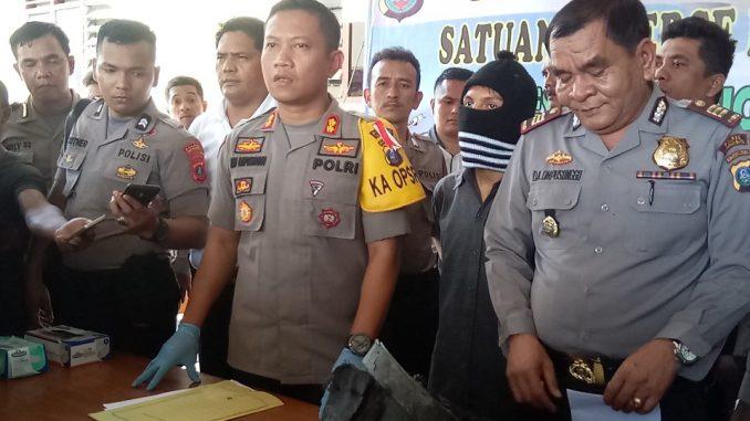 Tersangka Teror Bom Tas Hitam Alfmartmart Berhasil Ditangkap Kapolres Siantar