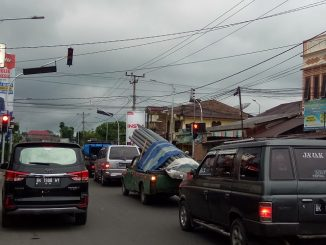 Traffic Light Simpang Farel Pasaribu Kembali Aktif