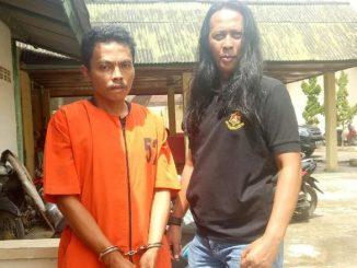 Yosep Gessan Ulun (37), warga Kertapatih, Palembang, Sumsel, ditangkap polisi karena mencuri dua ekor sapi