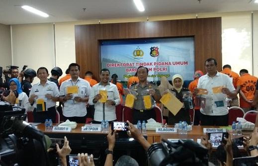 bareskrim bongkar sindikat perdagangan orang yang kirim 1500 tki ilegal