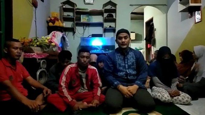 Tangkapan Layar Video Ketua Pencak Silat Cimande Kota Tebing