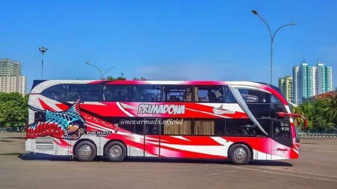 Bus Mewah dengan Kursi ala Kasur Bisa Tidur Nyenyak, Ini Tarifnya