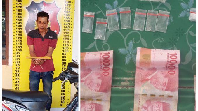Edarkan Sabu, Pria Asal Kabupaten Batubara Diciduk
