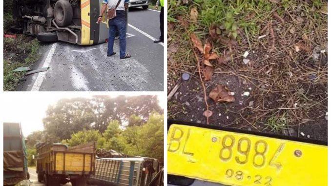Kecelakaan Maut Rombongan Pesta Dari Siantar di Lae Pondom Dairi, 35 Luka-luka, 1 Tewas