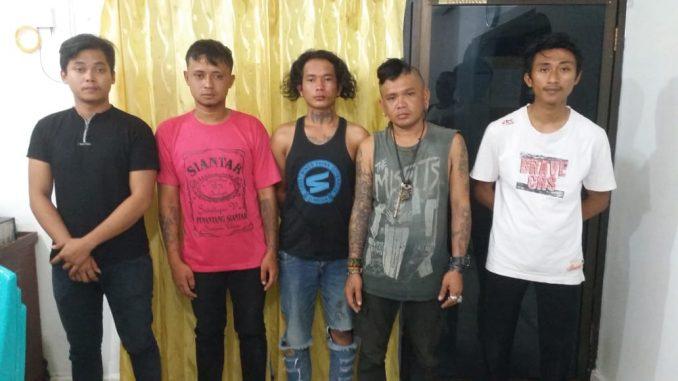 Lima Terduga Pengeroyokan Marudut Sinaga Hingga Tewas Berhasil Diamankan Polres Siantar
