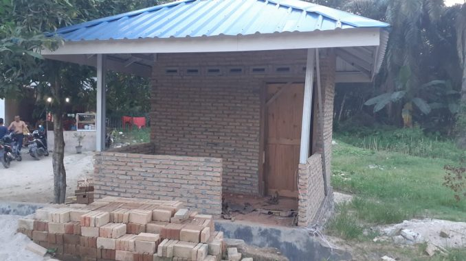 Ratusan Juta Dana ADD Desa Perkebunan Petatal Diduga Cuma Untuk Bangun Pos Kamling