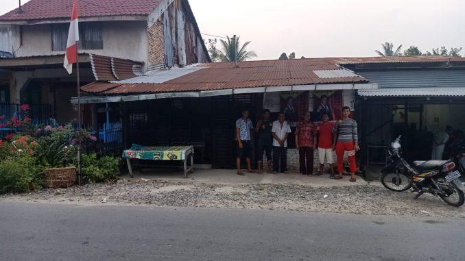 Pendirian Posko Masyarakat Untuk Tumbur Napitupulu Di Hutabayu Simalungun