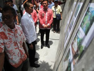 Walikota Siantar Tinjau Proyek Dana Kelurahan di Gang Kopral Martimbang