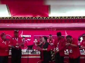 Megawati Melantik Pengurus PDIP Periode 2019-2024