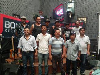 Shaggydog Bersama Beberapa Awak Media Online dan Cetak di Cafe Eldivo Jl.Sudirman, Pematangsiantar