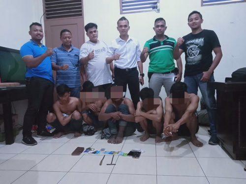 5 Kawanan Perampok di Pintu TOL Tanjung Mulia Medan Dibekuk Tim Khusus Gagak Polres Pelabuhan Belawan