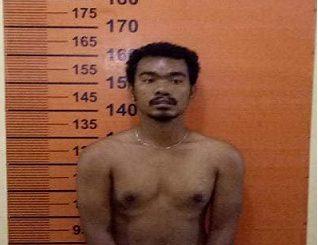 tersangka Menang Sitepu alias Gondang Pembunuh Anak Kandungnya ditangkap Tim Pegasus Polsek Pancur Batu