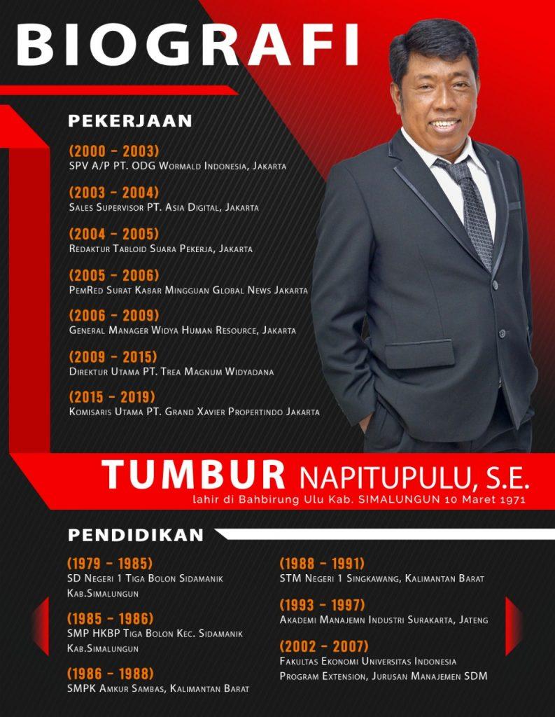 Biografi Tumbur Napitupulu