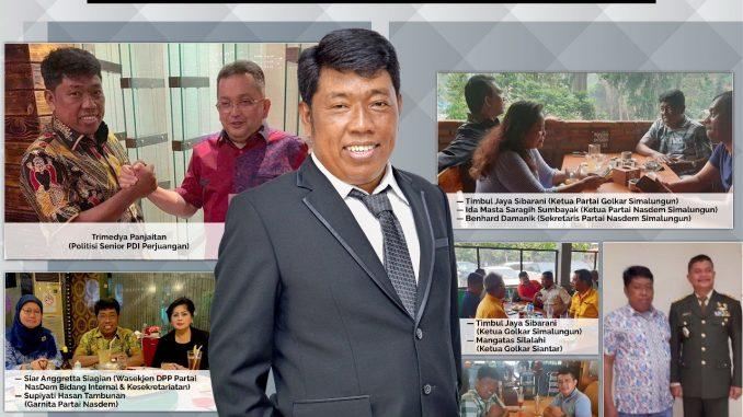 Maju sebagai Balon Bupati Simalungun 2020, Tokoh-tokoh Politik Nasional apresiasi dan dukung Tumbur Napitupulu, S.E.