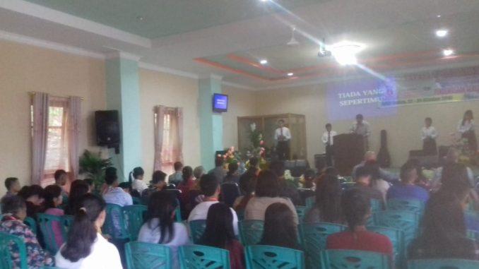 Seminar Kepemimpinan Gereja yg Apostolik ke VI Diadakan di Balige