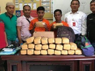 Polres Langkat Gagalkan 25 Kg Ganja Aceh ke Palembang