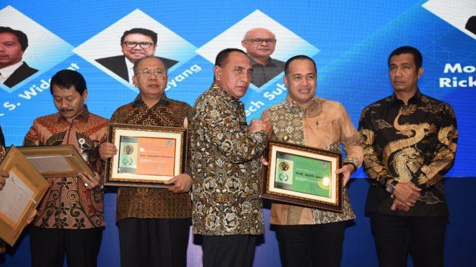 Ir. Zahir M.AP selaku Bupati defenitif kedua, kabupaten Batu Bara berhasil mendapat penghargaan sebagai Pemerintah Terbaik dalam penyaluran 'Kredit Ultra Mikro' (KUM) Terbanyak pada tahun 2019
