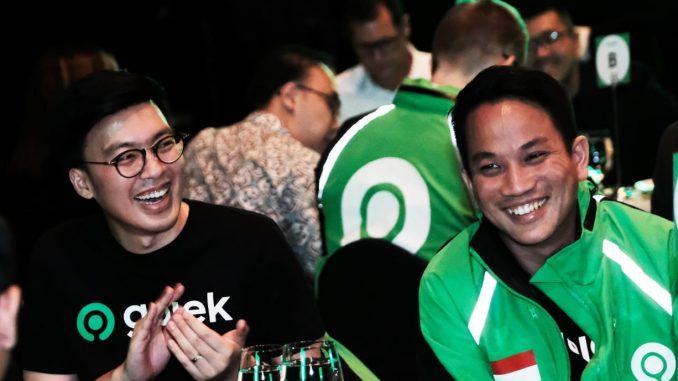 Foto B - Co-CEO Gojek, Kevin Aluwi dan Andre Soelistyo