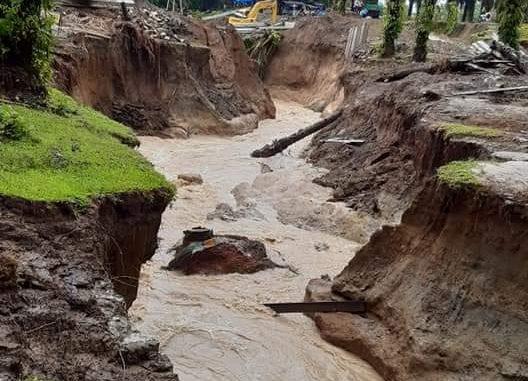 DAS di HGU PTPN IV 'Ditanami Kelapa Sawit' Diduga Penyebab Bencana Banjir dan Longsor