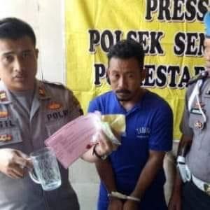 Agus Suwito (35) Diamankan Polsek Semarang