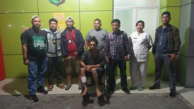 """""""Pelaku diamankan pada Sabtu, 8 November 2019 sore di Jl. Garu Tiga Kel. Harjosari I Kec. Medan Amplas,"""""""