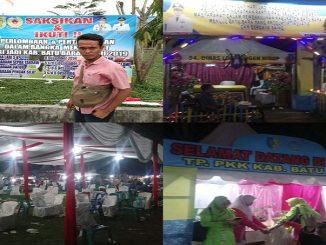 "Ketua KAMPAK (Koalisi Mahasiswa Anti Korupsi) kabupaten Batu Bara, Asro Hasibuan dan ""Kegiatan HUT Batu Bara tahun 2019"
