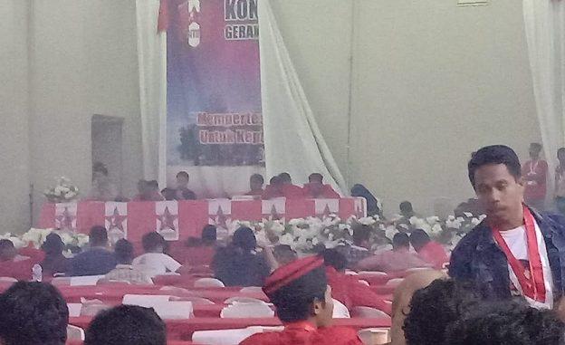 Kongres GMNI yang berlangsung di kota Ambon pada Kamis (28/11/2019)