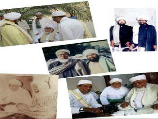 Pembina pesantren RI 1 Habib Abu Djibril Basyaiban ziarah ke makam pendiri Ponpes Darunnur, Pasuruan, Sayid Abdul Mu'thi Sulaiman Basyaiban.
