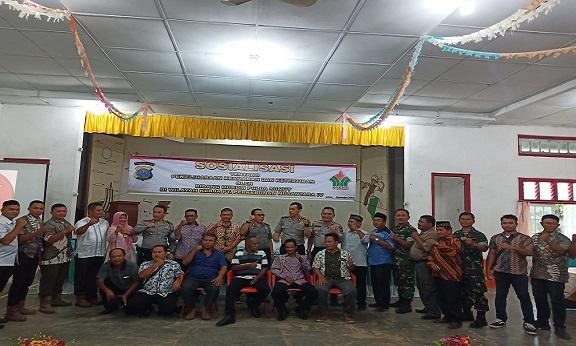 Tim Bidang Hukum Poldasu, Managemen PTPN-IV Unit Kebun Laras Dan Jajaran Pemerintah Setempat.