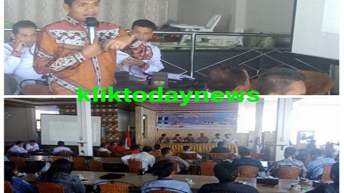 Komisioner KPU Divisi Teknis Penyelenggara Rantu Pasaribu