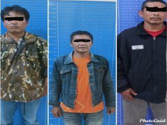 Tiga pelaku judi togel yakni RCGP (38), warga Pakkat Dolok, kec. Dolok Sanggul, SP (45) warga Pakkat Toruan Kec. Dolok Sanggul dan CHP (39), warga Lumban Barat Kec. Paranginan.