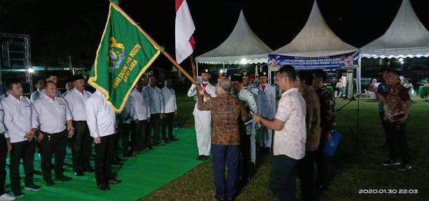 pelantikan terhadap Ketua Kadin Kab. Batu Bara terpilih yakni H.OK Faizal Djalil berserta segena susunan kepengurusan lain untuk masa bakti 2020-2025