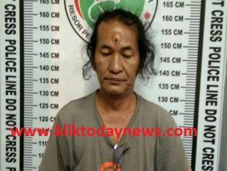 Polisi Menangkap Syahrul Sikumbang Residivis Kasus Narkoba atas kepemilikan barang narkotika diduga jenis sabu hari Jumat,(17/1/2020) sekitar pukul 09.00 WIB.